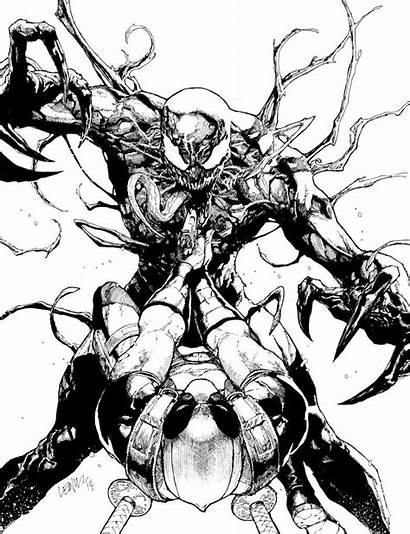 Deadpool Carnage Vs Leinil Yu Comic Marvel