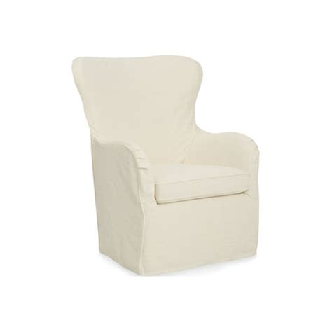 slipcover swivel chair 5655 swsc cayden cr outlet