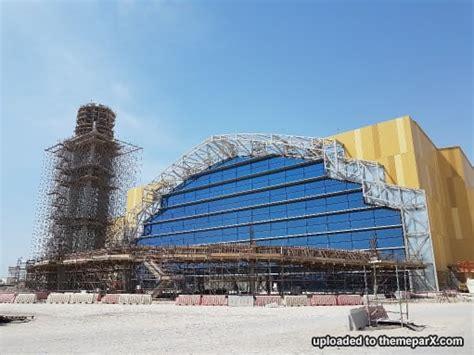 warner bros world abu dhabi construction updates