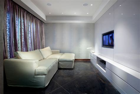 Media Room  Modern  Home Theater  Other  By Elad Gonen