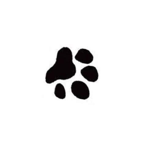 leopard paw prints   clip art  clip