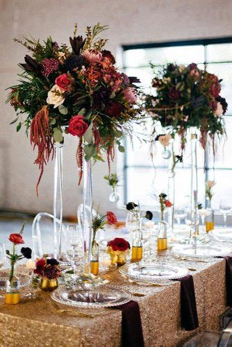39 Gorgeous Tall Wedding Centerpieces Page 3 of 14