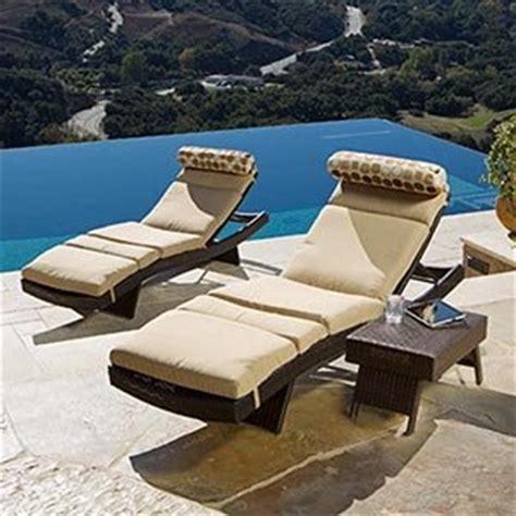 Portofino Patio Furniture Replacement Cushions by Portofino Signature 3 Lounge Set With