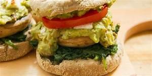 Pilz Rezepte Vegetarisch : avocado pilz burger vegetarisch nat rlich lecker ~ Lizthompson.info Haus und Dekorationen