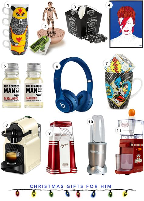 Top Gift Ideas For Him!  Fit & Fab