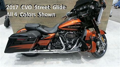 harley colors 2017 cvo glide harley davidson colors and