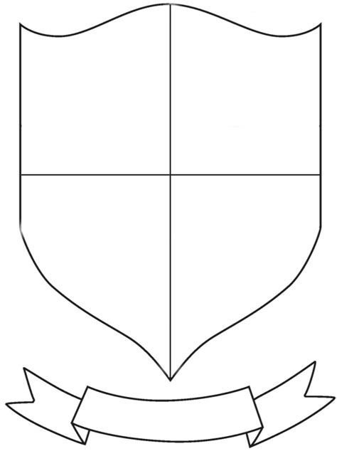 Coat Of Arms Template Blank Coat Of Arms Template Pictures To Pin On