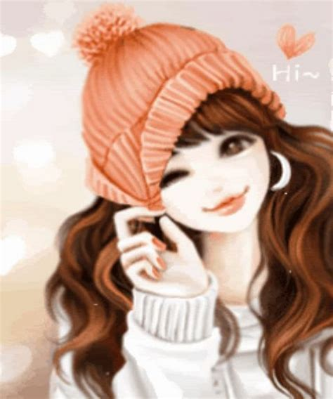 Anime Korea Cool Animated Profile Dp Pictures For