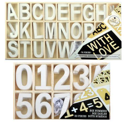 buchstaben holz deko buchstaben holz holzbuchstaben zahlen shabby chic alphabet deko basteln 50 78 tl ebay