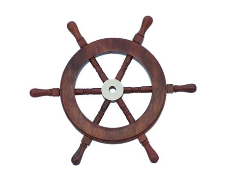 Boat Wheel by Buy Deluxe Class Wood And Brass Decorative Ship Wheel 9