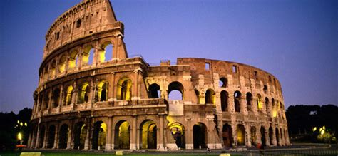 Colosseum The Biggest Amphitheater In Rome Travel Featured