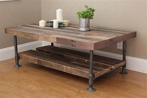 Ana white industrial coffee table diy projects for White industrial coffee table
