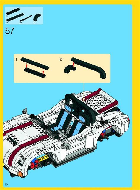 Lego Convertible Instructions 4993, Creator