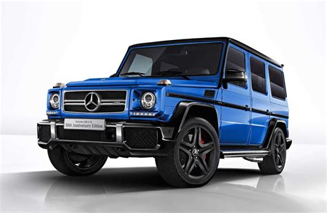 What Is Mercedes Amg by Mercedes Amg G 63 50th Anniversary Edition Announced For