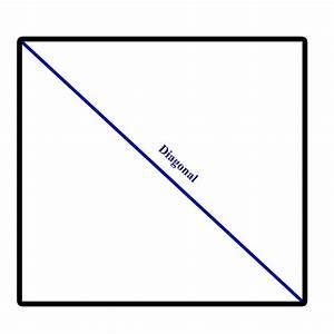 Diagonal Berechnen : diagonale d finition c 39 est quoi ~ Themetempest.com Abrechnung