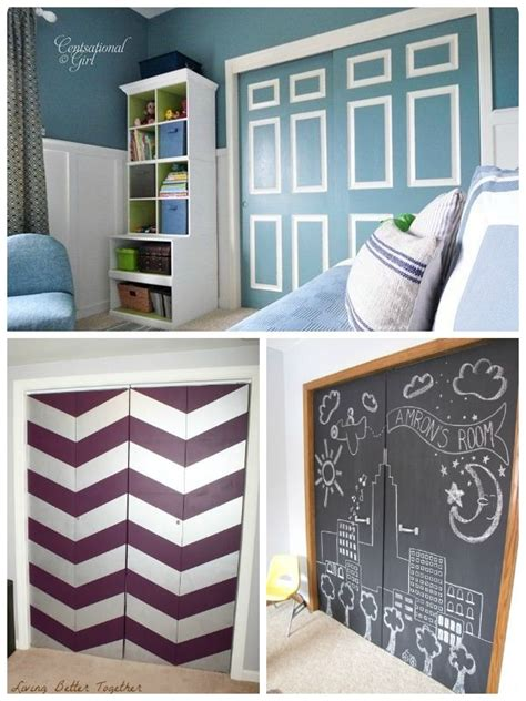 1000 ideas about closet doors painted on