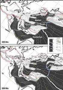 220 U2013 200 Ma  Late Triassic   As The Palaeotethys  Pat