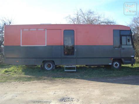 camion cuisine camion équipé cuisine et point de vente gujan mestras 33470