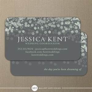 Champagne bubbles business card calling card contact for Event planning business cards