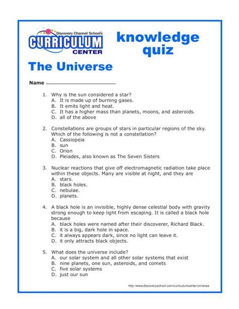 worksheets on universe for grade 3 universe worksheets for 8th grade science universe best