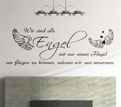 Zitate Haus Wandtattoo Sprüche Wir Sind Alle Engel 160cm Schlafzimmer