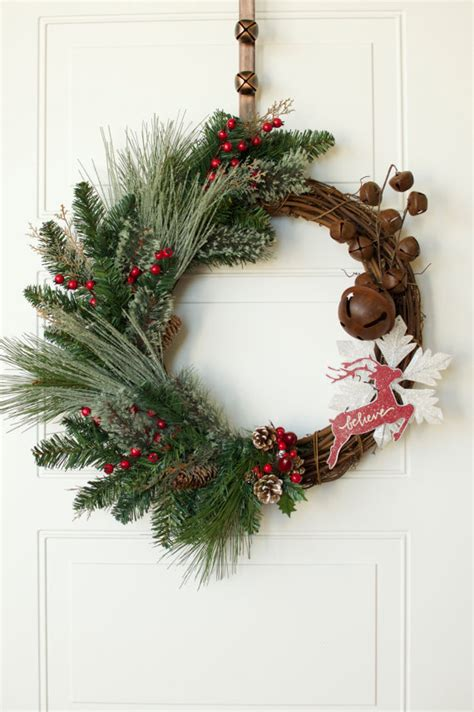 reindeer grapevine wreaths christmas wikii