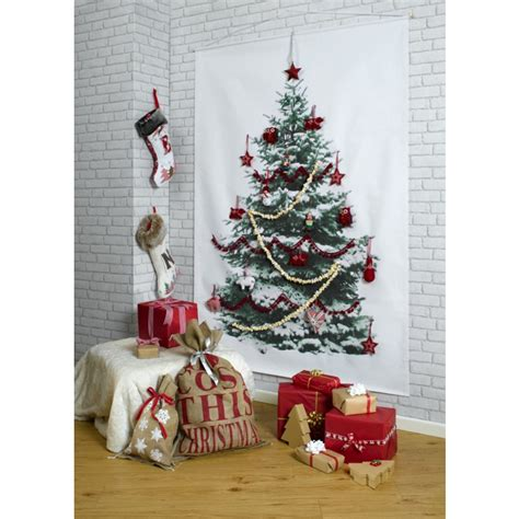 artificial wall christmas tree inspirations