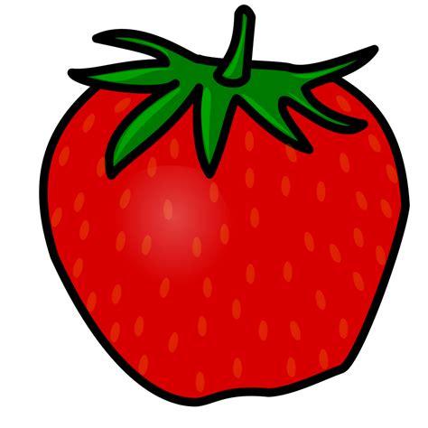 Filetux Paint Strawberrysvg  Wikimedia Commons