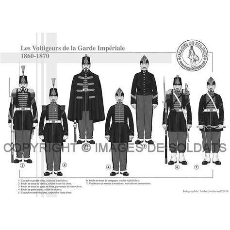 le bureau la garde les voltigeurs de la garde impériale 1860 1871