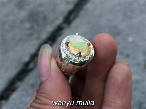 batu cincin kalimaya kembang jarong asli kode 797 wahyu mulia