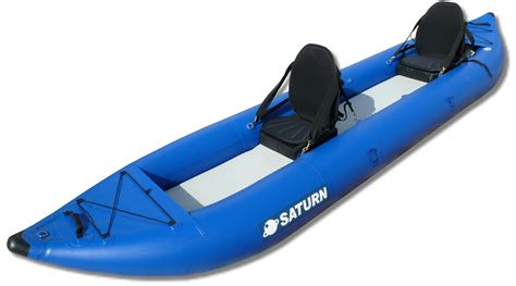 Inflatable Boats Rafts Kayaks by Self Bailing Pro Ocean Inflatable Kayak By Saturn