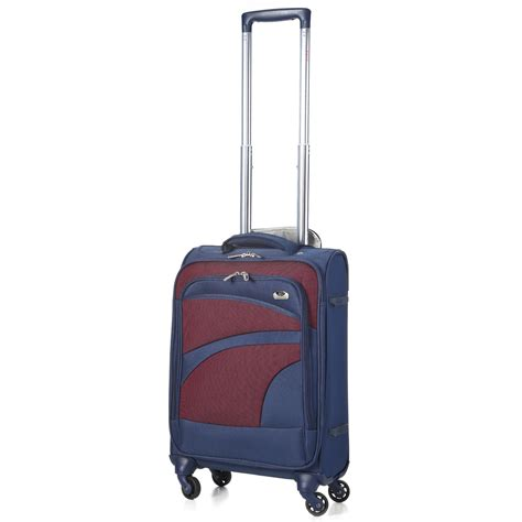 cabin luggage 4 wheels aerolite aero9925 lightweight 21 cabin luggage