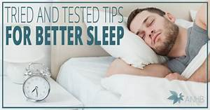 Tried and Tested Tips for Better Sleep