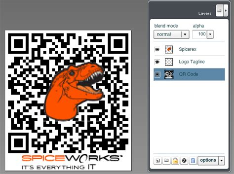 add images  qr codes  bar codes digital art spiceworks