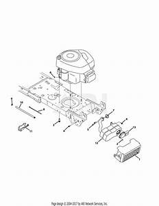 Troy Bilt 13am77ks011 Pony  2014  Parts Diagram For Engine