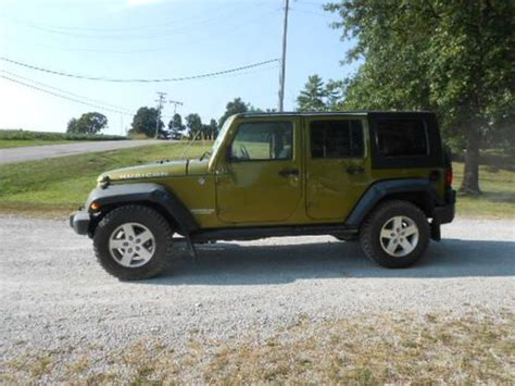 wrecked jeep buy used 2008 jeep wrangler rubicon 4x4 4 door salvage