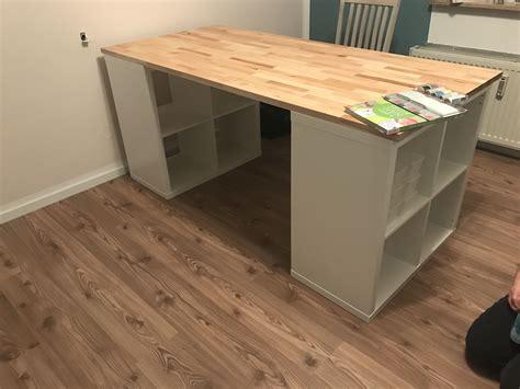 Kallax Ikea Schreibtisch by N 228 H Bzw Schreibtisch 2x Kallax 2x2 Und Eine