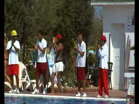 riu marco polo hammamet animation team  ouled