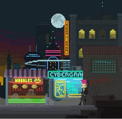 Pixel Vhs Future Welcome Cyberpunk Bit