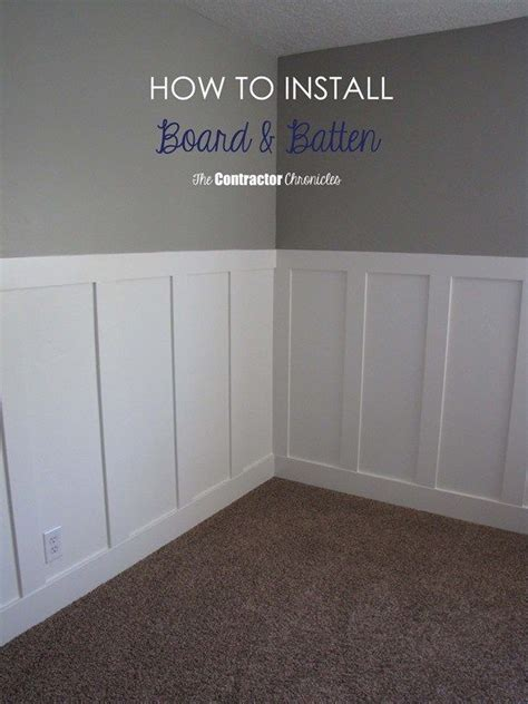 Installing Mdf Wainscoting by Craftsman Style Board And Batten Using All Mdf Trim