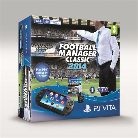 football manager classic  ps vita console bundle