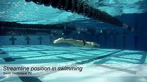 Streamline position in swimming - YouTube