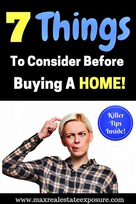 What To Consider Before Buying Your First Home