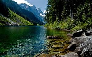 Nature Rivers Lakes Wallpaper Hd