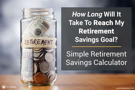 simple retirement savings calculator easy