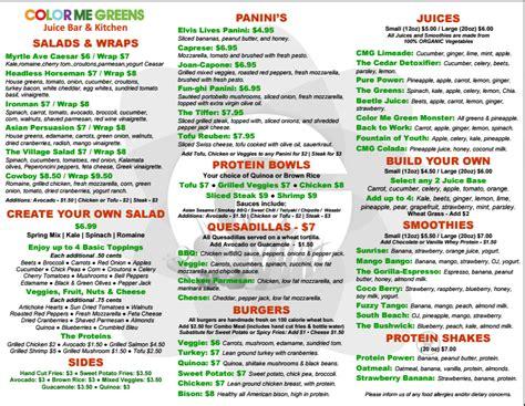 color me mine ridgewood color me greens brings healthy food to bushwick ridgewood