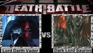 Death Battle Lord Darth Vader vs Dark Lord Sauron by ...