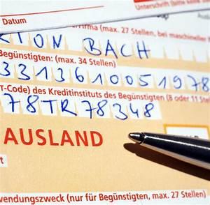 Lieferung Innerhalb Deutschland Rechnung Eu : zahlungsverkehr berweisungen ins ausland m ssen nicht ~ Themetempest.com Abrechnung