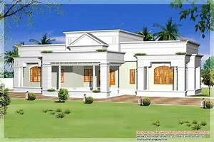 Single, Storey, Kerala, House, Model, With, Kerala, House, Plans