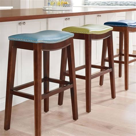 colored kitchen chairs 18 colorful bar stools for your family kitchen 2327
